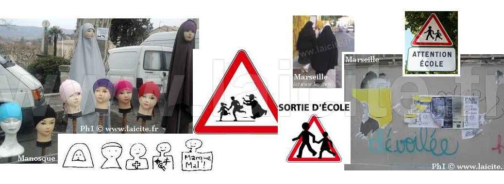 Voile, école, marques, dévoilée © PhI Laicite.fr