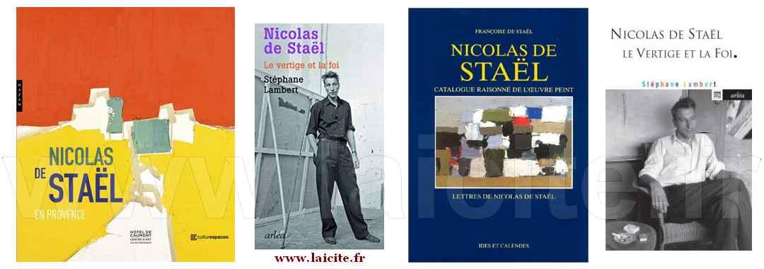 Nicolas de Staël, peintre, photos & tableaux, Laicite.fr