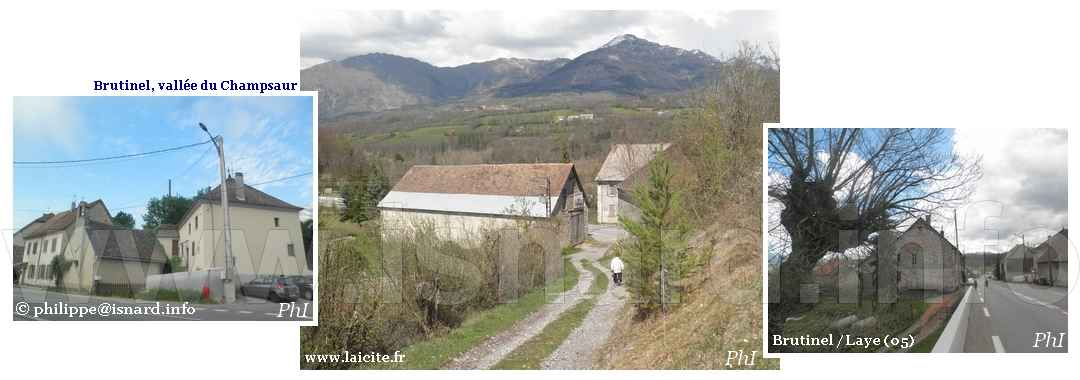 3 vues, hameau de Brutinel (05) Laye © PhI 29.4.12
