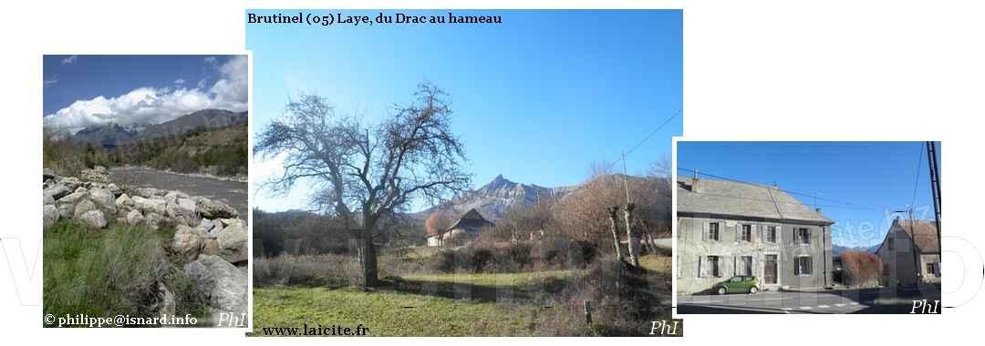 Brutinel (05) Laye, du Drac au hameau © PhI