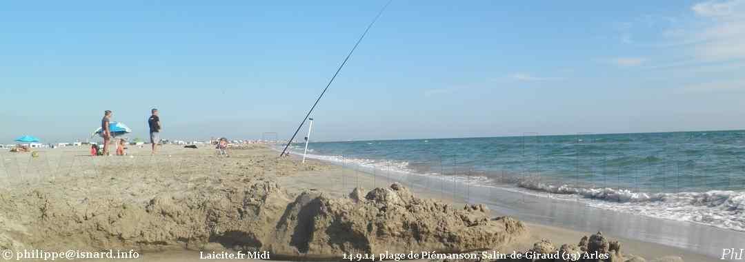 plage de Piémanson, Salin-de-Giraud (13) Arles 14.9.14 public © PhI