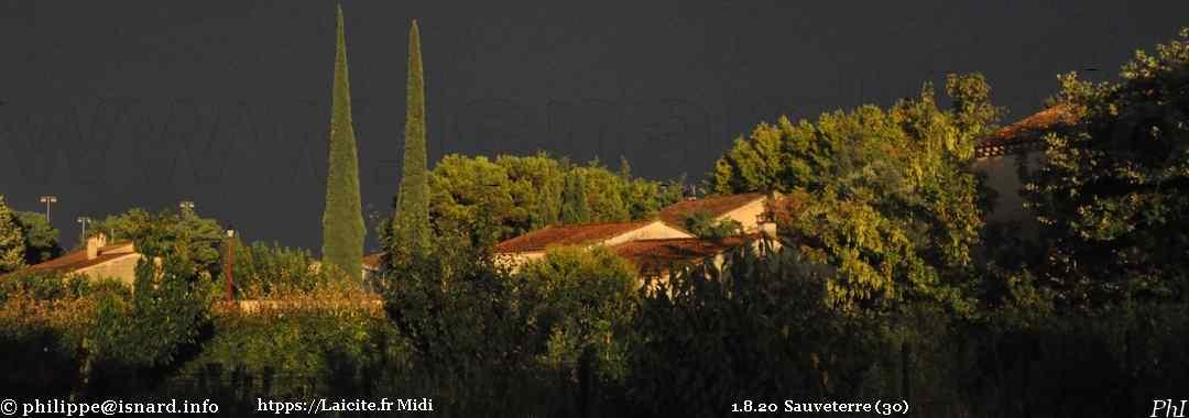 Ciel d'orage Sauveterre (30) 1.8.20 © PhI