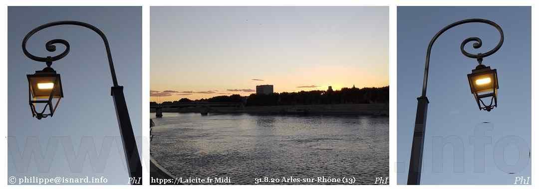 Arles-sur-Rhône (13) nuit 31.8.20 © PhI