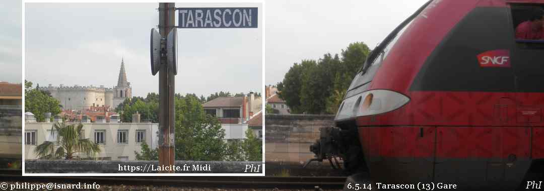 Gare (13) Tarascon 6.5.14 © PhI