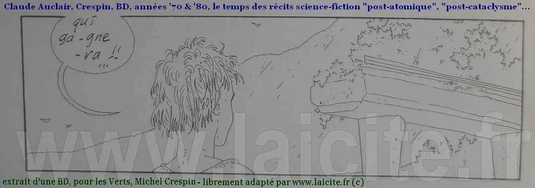Crespin, Auclair BD post-cataclysme © Coll. PhI, Laicite.fr Midi