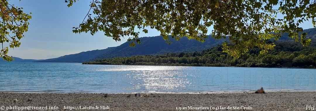 Fin de l'été, lac de Ste-Croix désert (04) Moustiers 1.9.21 © PhI