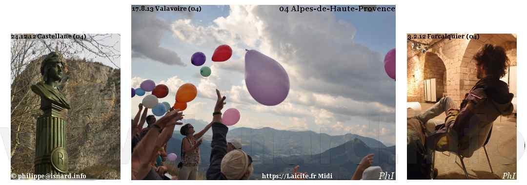 04 Alpes-de-Haute-Provence, Castellane, Valavoire, Forcalquier 2012-2013 © PhI